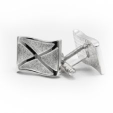 Saltire Cufflinks Large